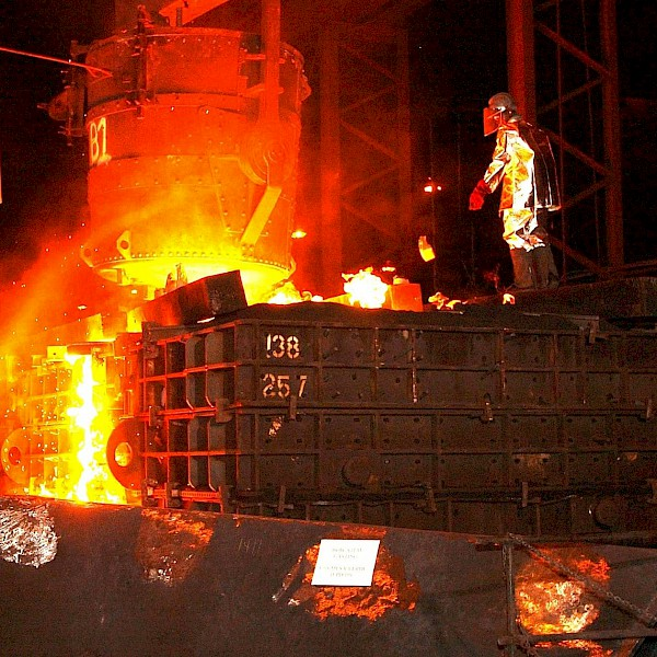 Illustration Steel and Mill Industry